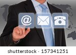 contact us | Shutterstock . vector #157341251