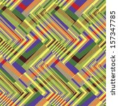 abstract colorful striped... | Shutterstock .eps vector #157347785