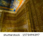 Hieroglyphics In The Tomb Of...