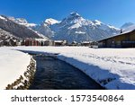 Canal At The Village Engelberg...