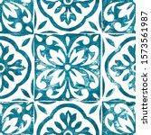 hand drawn seamless pattern.... | Shutterstock . vector #1573561987