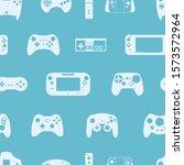 video game controller... | Shutterstock .eps vector #1573572964