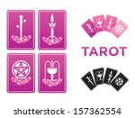tarot cards   Shutterstock .eps vector #157362554