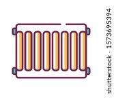 steel radiators of heating in...