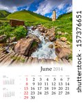 2014 Calendar. June. Beautiful...
