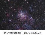 Telescope Photograph Of The...