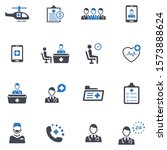 medical and healthcare services ... | Shutterstock .eps vector #1573888624