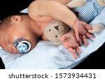 Baby Sleeping  Diapers  Blanket....