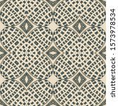 Mexican Geomety Pattern. Indian ...