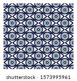 vector of evil eye   turkish... | Shutterstock .eps vector #1573995961