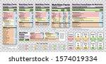 nutrition facts label. vector.... | Shutterstock .eps vector #1574019334