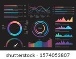 color infographic set for...   Shutterstock .eps vector #1574053807