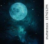Full Moon On The Skies ...