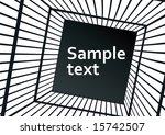 cage | Shutterstock .eps vector #15742507