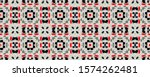 Seamless Pattern Skin. White...