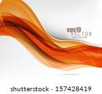 eps10 vector wavy abstract...   Shutterstock .eps vector #157428419