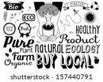 environmental doodles   Shutterstock . vector #157440791