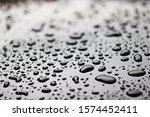 rain drops on a shiny surface | Shutterstock . vector #1574452411