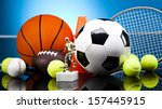sports equipment  | Shutterstock . vector #157445915