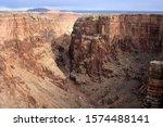 View of the Little Colorado River Canyon near Cameron, AZ, USA