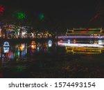 Illuminated Night Market In...