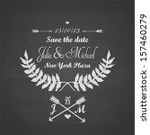 Chalkboard Wedding Template...