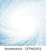 mosaic rotating swirl background | Shutterstock .eps vector #157462421