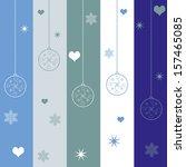 christmas background | Shutterstock .eps vector #157465085