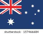 australia flag vector | Shutterstock .eps vector #157466684