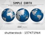 simple globe | Shutterstock .eps vector #157471964