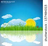 nature background | Shutterstock .eps vector #157484315