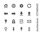 website icons | Shutterstock .eps vector #157485635