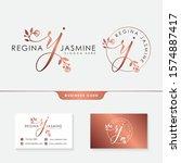 feminine logo collections... | Shutterstock .eps vector #1574887417