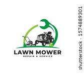 lawn mower repair   service...   Shutterstock .eps vector #1574889301