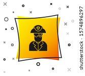 Black Pirate Captain Icon...