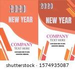 brochure template layout design.... | Shutterstock .eps vector #1574935087