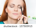 photo of make up artist... | Shutterstock . vector #157505915