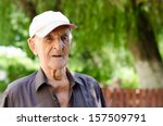 serious expression 90 year old... | Shutterstock . vector #157509791