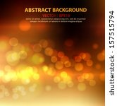 abstract gold and brown... | Shutterstock .eps vector #157515794