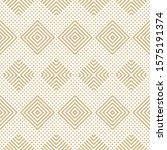 golden vector geometric...   Shutterstock .eps vector #1575191374