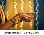 diwali festival of lights  ...   Shutterstock . vector #157529291