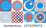 different circles in different... | Shutterstock . vector #1575299674