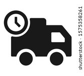 on time delivery icon. vector...   Shutterstock .eps vector #1575358261