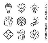 Idea Business Inovation Icon Set