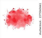 vector splash color red... | Shutterstock .eps vector #1575363661