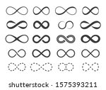 infinity  eternity symbol.... | Shutterstock .eps vector #1575393211