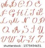 vector illustration red front... | Shutterstock .eps vector #1575454651