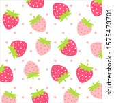 fruit pattern.cute fresh... | Shutterstock .eps vector #1575473701