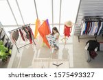 fashion designer stylish... | Shutterstock . vector #1575493327