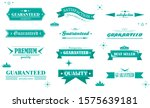 retro banner and ribbon design... | Shutterstock .eps vector #1575639181